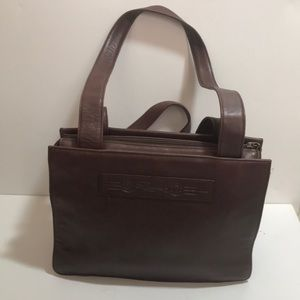 Fossil Brown Leather Vintage Purse 75082